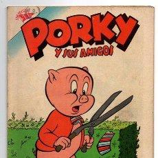 Tebeos: PORKY Y SUS AMIGOS # 71 NOVARO 1957 PATO LUCAS, PETUNIA BUGS BUNNY EXCELENTE ESTADO. Lote 44145743