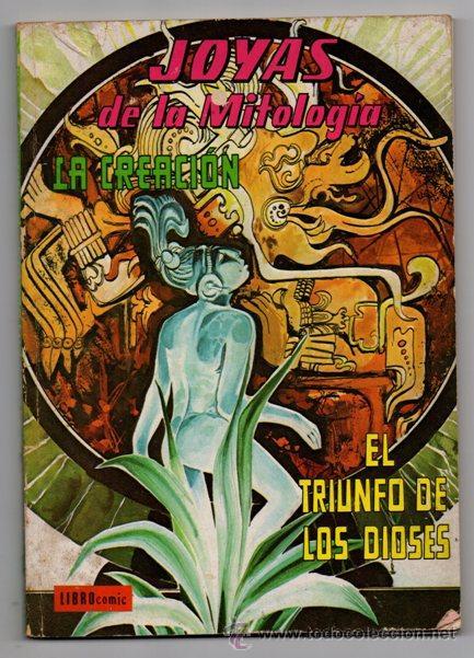 JOYAS DE LA MITOLOGIA LIBROCOMIC # 2 NOVARO 1973 - 64 PAG LA CREACION & EL TRIUNFO DE LOS .. EXCELEN (Tebeos y Comics - Novaro - Sci-Fi)