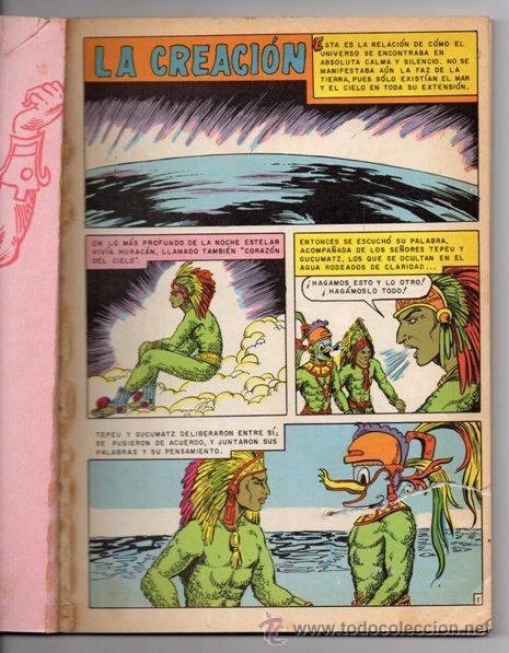 Tebeos: JOYAS DE LA MITOLOGIA LIBROCOMIC # 2 NOVARO 1973 - 64 PAG LA CREACION & EL TRIUNFO DE LOS .. EXCELEN - Foto 2 - 44146005