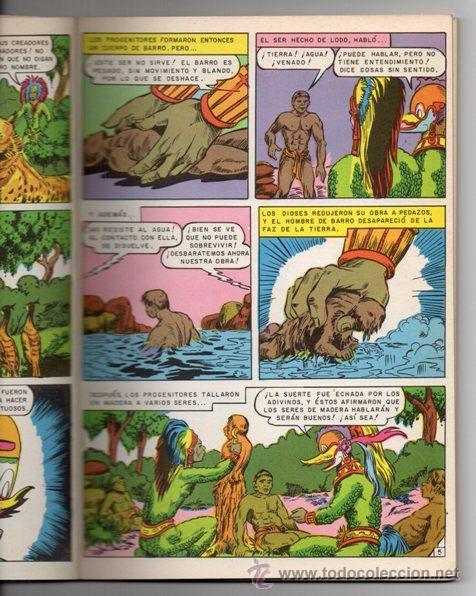 Tebeos: JOYAS DE LA MITOLOGIA LIBROCOMIC # 2 NOVARO 1973 - 64 PAG LA CREACION & EL TRIUNFO DE LOS .. EXCELEN - Foto 3 - 44146005