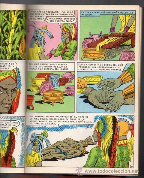 Tebeos: JOYAS DE LA MITOLOGIA LIBROCOMIC # 2 NOVARO 1973 - 64 PAG LA CREACION & EL TRIUNFO DE LOS .. EXCELEN - Foto 4 - 44146005