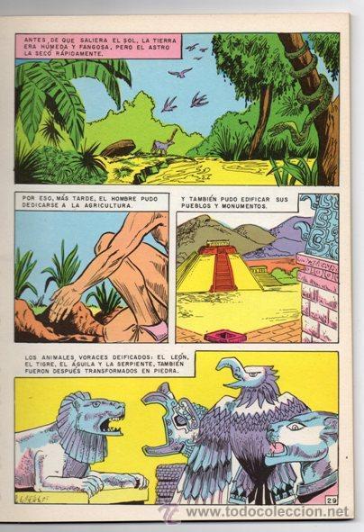 Tebeos: JOYAS DE LA MITOLOGIA LIBROCOMIC # 2 NOVARO 1973 - 64 PAG LA CREACION & EL TRIUNFO DE LOS .. EXCELEN - Foto 5 - 44146005