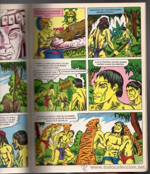 Tebeos: JOYAS DE LA MITOLOGIA LIBROCOMIC # 2 NOVARO 1973 - 64 PAG LA CREACION & EL TRIUNFO DE LOS .. EXCELEN - Foto 6 - 44146005