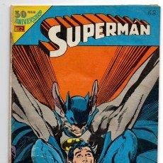 Tebeos: SUPERMAN # 3-68 NOVARO AVESTRUZ 1980 BATMAN EL HOMBRE HALCON BUEN ESTADO. Lote 44146302