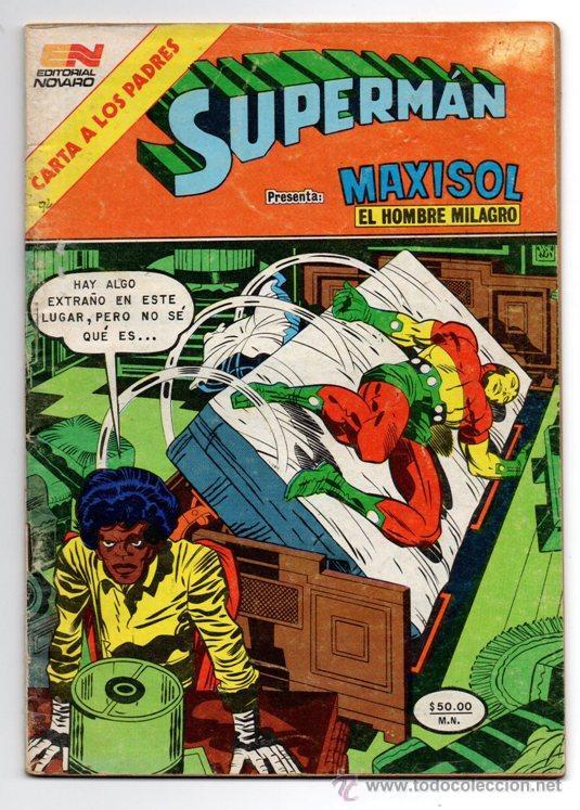 SUPERMAN # 1492 NOVARO 1984 AGUILA MAXISOL JACK KIRBY MIKE ROYER EXCELENTE (Tebeos y Comics - Novaro - Superman)