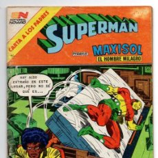 Tebeos: SUPERMAN # 1492 NOVARO 1984 AGUILA MAXISOL JACK KIRBY MIKE ROYER EXCELENTE. Lote 137535390