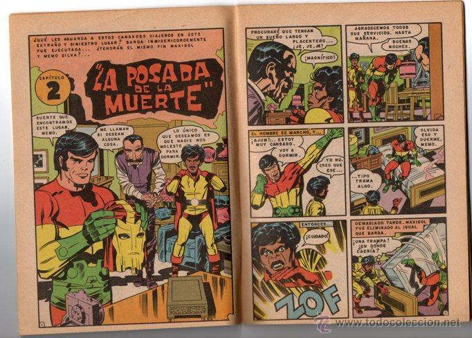 Tebeos: SUPERMAN # 1492 NOVARO 1984 AGUILA MAXISOL JACK KIRBY MIKE ROYER EXCELENTE - Foto 2 - 137535390