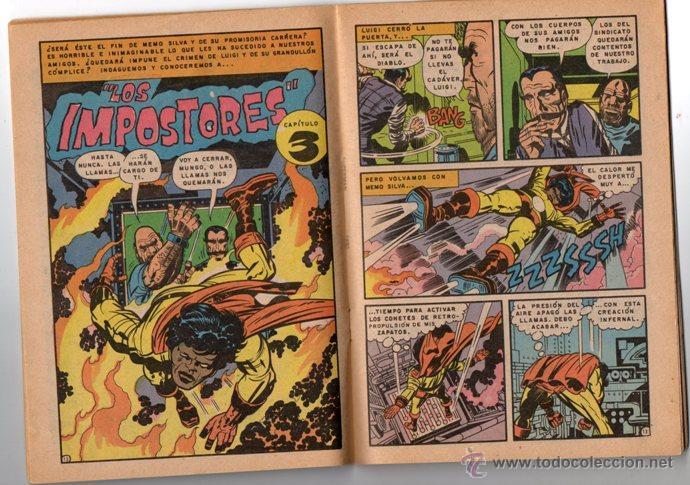 Tebeos: SUPERMAN # 1492 NOVARO 1984 AGUILA MAXISOL JACK KIRBY MIKE ROYER EXCELENTE - Foto 3 - 137535390