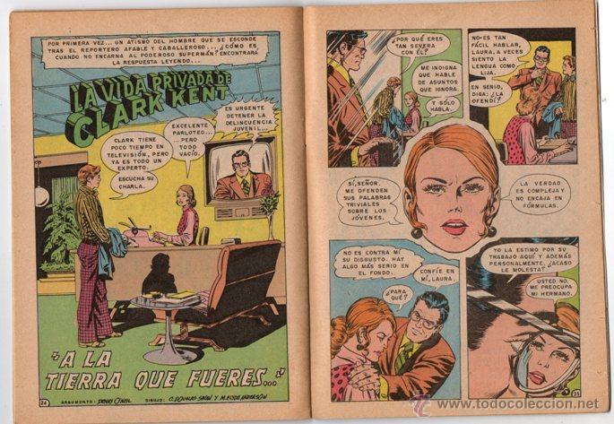 Tebeos: SUPERMAN # 1492 NOVARO 1984 AGUILA MAXISOL JACK KIRBY MIKE ROYER EXCELENTE - Foto 4 - 137535390