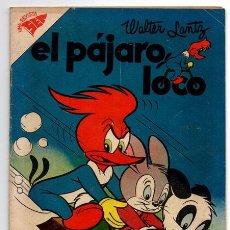 Tebeos: EL PAJARO LOCO # 122 NOVARO 1957 WALTER LANTZ ANDY PANDA GALLINAZO EXCELENTE ESTADO. Lote 44221178