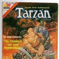 Tebeos: TARZAN # 3-136 NOVARO 1981 AVESTRUZ EL TEMPLO DE LOS HORRORES MUY BUEN ESTADO. Lote 44231292