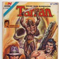 Tebeos: TARZAN # 3-140 NOVARO 1981 AVESTRUZ EL DIOS DEL RAYO EXCELENTE ESTADO. Lote 44231308