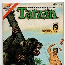 Tebeos: TARZAN # 3-145 NOVARO 1981 AVESTRUZ LOS ARBOLES CAMINANTES EXCELENTE ESTADO. Lote 44231392