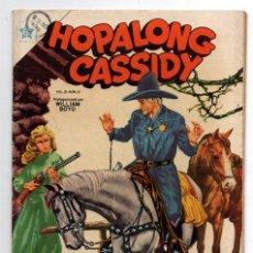 Tebeos: HOPALONG CASSIDY # 10 NOVARO 1955 WILLIAM BOYD EL VAQUERO ADIVINO CLARENCE MULFORD IMPECABLE. Lote 44242815