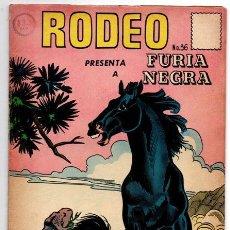 Tebeos: RODEO # 36 LA PRENSA NOVARO 1957 FURIA NEGRA & LOLITA PISTOLAS EXCELENTE ESTADO. Lote 44278102