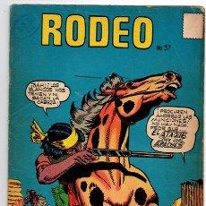 Tebeos: RODEO # 37 LA PRENSA NOVARO 1958 FLECHA VELOZ ATAQUE DE LOS APACHES EXCELENTE ESTADO. Lote 44278105