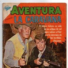 Tebeos: AVENTURA # 176 NOVARO 1961 LA CARAVANA WAGON TRAIN VENGANZA DE LOS CHEYENES MUY BUEN ESTADO. Lote 44308612