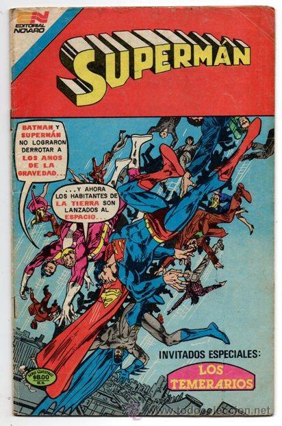 SUPERMAN # 3-88 NOVARO AVESTRUZ 1982 JACK KIRBY DICK GIORDANO LOS TEMERARIOS MUY BUEN ESTADO (Tebeos y Comics - Novaro - Superman)