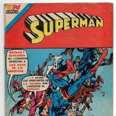Tebeos: SUPERMAN # 3-88 NOVARO AVESTRUZ 1982 JACK KIRBY DICK GIORDANO LOS TEMERARIOS MUY BUEN ESTADO. Lote 44347052