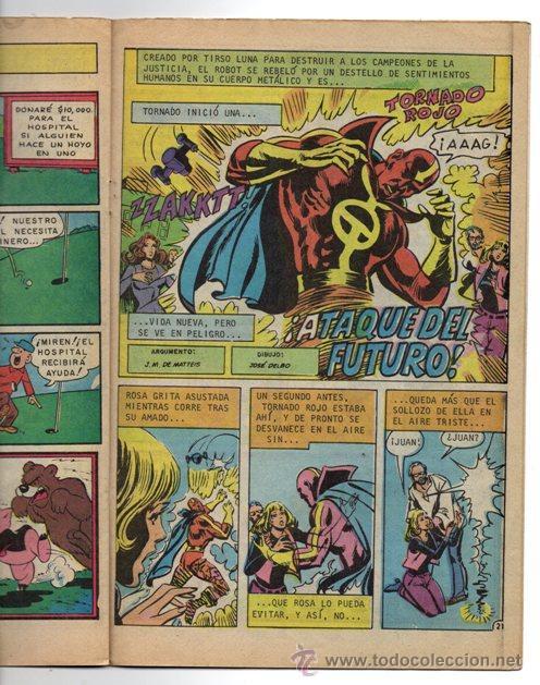 Tebeos: SUPERMAN # 3-88 NOVARO AVESTRUZ 1982 JACK KIRBY DICK GIORDANO LOS TEMERARIOS MUY BUEN ESTADO - Foto 3 - 44347052