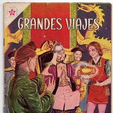 Tebeos: GRANDES VIAJES # 4 NOVARO 1963 LAS EMBAJADAS DE MARCO POLO EXCELENTE. Lote 44363726