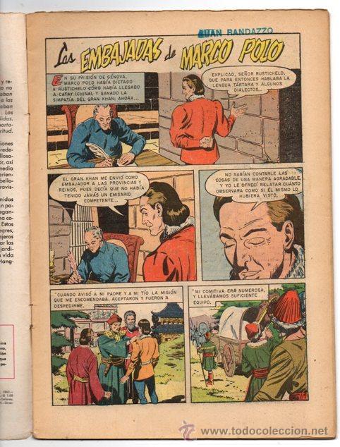Tebeos: GRANDES VIAJES # 4 NOVARO 1963 LAS EMBAJADAS DE MARCO POLO EXCELENTE - Foto 2 - 44363726