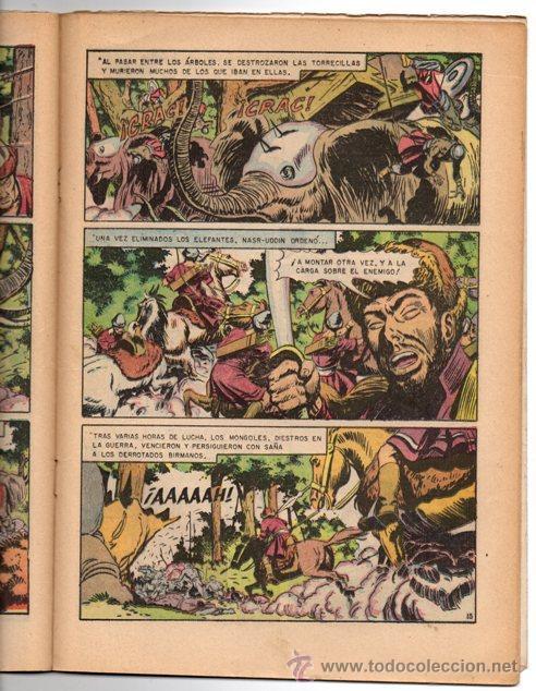 Tebeos: GRANDES VIAJES # 4 NOVARO 1963 LAS EMBAJADAS DE MARCO POLO EXCELENTE - Foto 3 - 44363726