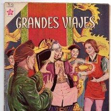 Tebeos: GRANDES VIAJES # 4 NOVARO 1963 LAS EMBAJADAS DE MARCO POLO CON DETALLES. Lote 44363729