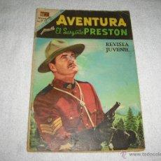 Tebeos: AVENTURA, EL SARGENTO PRESTON Nº 535 1968. Lote 44365322