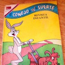 Tebeos: EL CONEJO DE LA SUERTE Nº 322 EDITORIAL NOVARO AÑO 1969. Lote 44428028