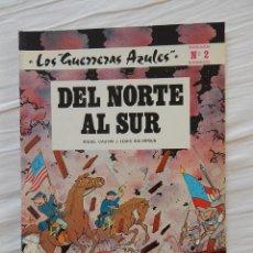 Tebeos: LOS GUERRERAS AZULES - DEL NORTE AL SUR N. 2. Lote 44463563