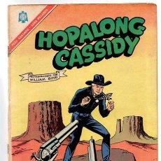 Tebeos: HOPALONG CASSIDY # 142 NOVARO 1966 WILLIAM BOYD EL GAVILAN RODEO RICK. Lote 44518347