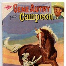 Tebeos: GENE AUTRY # 82 & CAMPEON NOVARO 1960 LOS GORILAS EXCELENTE ESTADO. Lote 44620724