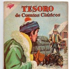 Tebeos: TESORO DE CUENTOS CLASICOS # 59 NOVARO 1962 JACK LONDON EL LLAMADO DE LA SELVA EXCELENTE. Lote 200130510
