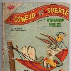 Tebeos: EL CONEJO DE LA SUERTE # EXTRAORDINARIO NOVARO 80 PAG 1962 BUEN ESTADO. Lote 44730944