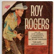 Tebeos: ROY ROGERS # 76 NOVARO 1958 UN CASO ASOMBROSO MUY BUEN ESTADO. Lote 44731047