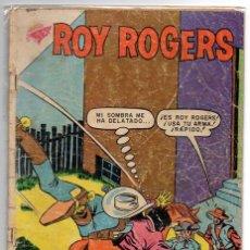 Tebeos: ROY ROGERS # 84 NOVARO 1959 BATIDA NOCTURNA CON DETALLES. Lote 44741216