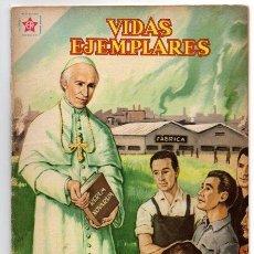 Tebeos: VIDAS EJEMPLARES # 76 SU SANTIDAD LEON XIII RERUM NOVARUM NOVARO 1960 EXCELENTE. Lote 44756314