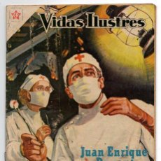 Livros de Banda Desenhada: VIDAS ILUSTRES # 26 JUAN ENRIQUE DUNANT, FUNDADOR CRUZ ROJA NOVARO 1958 MUY BUEN ESTADO. Lote 44765853
