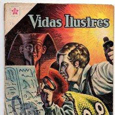 Tebeos: VIDAS ILUSTRES # 67 CHAMPOLION & LOS JEROGLIFICOS NOVARO 1961 BUEN ESTADO. Lote 44765913