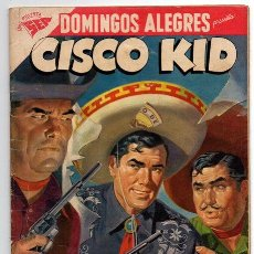 Tebeos: DOMINGOS ALEGRES # 202 CISCO KID NOVARO 1958 EXCELENTE ESTADO DELL # 15 1953. Lote 44798160