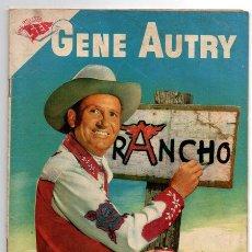 Tebeos: GENE AUTRY # 50 NOVARO 1958 LA BANDA DEL HELICOPTERO MUY BUEN ESTADO. Lote 44862605