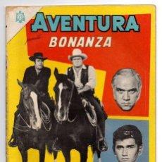 Tebeos: AVENTURA # 381 BONANZA NOVARO 1965 PERNELL ROBERTS, LANDON, LORNE GREEN BUEN ESTADO . Lote 44876171