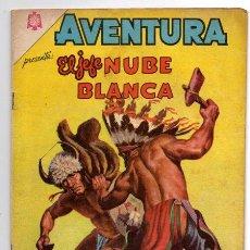 Tebeos: AVENTURA # 374 EL JEFE NUBE BLANCA NOVARO 1965 MUY BUEN ESTADO. Lote 44876178