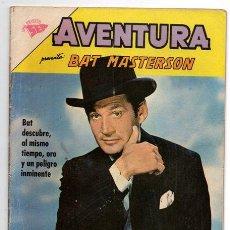 Tebeos: AVENTURA # 261 BAT MASTERSON NOVARO 1963 EXCELENTE. Lote 44876391