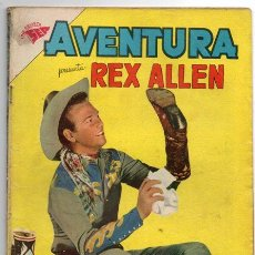 Tebeos: AVENTURA # 131 REX ALLEN NOVARO 1960 BUEN ESTADO. Lote 44876393