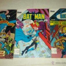 Tebeos: BATMAN LOTE 3 COMICS CINCO TIP. NOVARO AGUILA. Lote 44969823