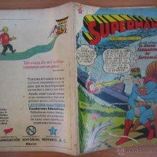 Tebeos: SUPERMAN , NÚMERO EXTRAORDINARIO 1 DE NOVIEMBRE DE 1959. EDITORIAL NOVARO, MEXICO.. Lote 45015748