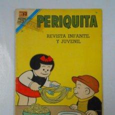 Tebeos: PERIQUITA Nº 167. REVISTA INFANTIL Y JUVENIL. NOVARO. TDKC4. Lote 45039239
