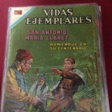 BDs: NOVARO - VIDAS EJEMPLARES NUMERO 321 EN BUEN ESTADO DE CONSERVACION. Lote 45113944